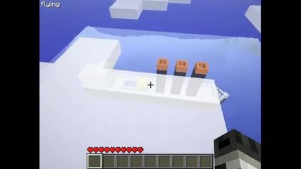 Мinecraft : Титаник