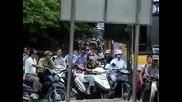 Кръстовище В Ханой Виетнам