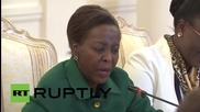Russia: Lavrov meets with the Rwandan FM in Moscow