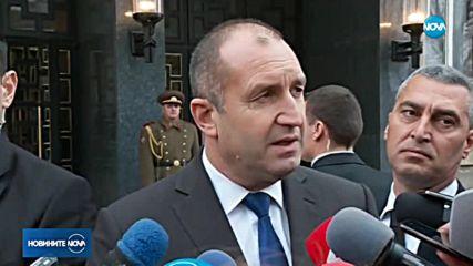 Президентът за изказването на депутата Петър Петров: Решение трябва да се търси от парламента