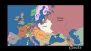 Карта на Европа през последните 1000 години в рамките на 5 минути