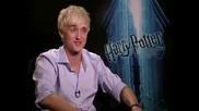 Tom Felton - интервю Harry Potter and the Half - Blood Prince - част 1