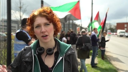UK: Protesters accuse Thales UK of profiting from 'Israeli war crimes'