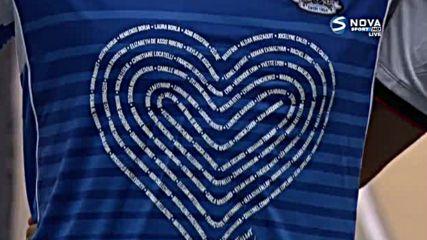"""Жертвите от Ница бяха почетени на """"Алианц Ривиера"""""""