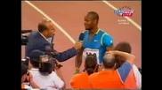 Asafa Powell - 100m - World Record - СВЕТОВЕН РЕКОРД - НАЙ-ГОЛЕМИЯЯяя