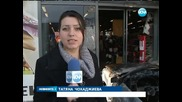 Откраднат автомобил се вряза в столичен магазин - Новините на Нова