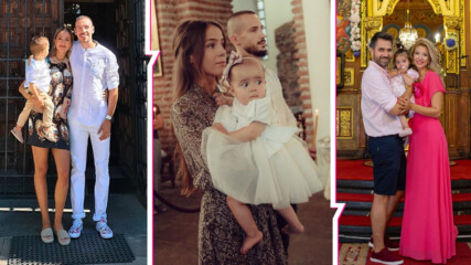 Известните българи, които кръстиха децата си в края на лято 2020