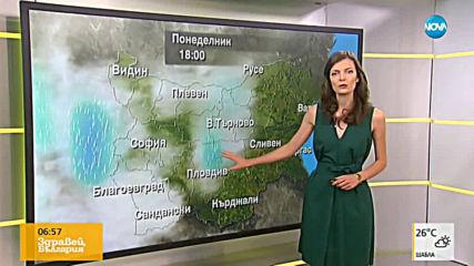 Прогноза за времето (26.08.2019 - сутрешна)