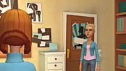 Jessica and Caillou go to the cafe-rosie breaks Caillous plate and gets grounded