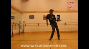 Dance Talent Of The Week Booker Forte - Footwork To Ushe