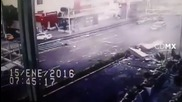 Mexico: Restaurant explosion in Mexico City caught on CCTV