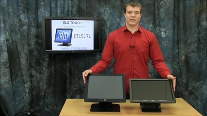 Тех Вижън Представя Най-популярните Тъчскрийн Монитори За Касови Места Еlo Ет1509l/ет1517l