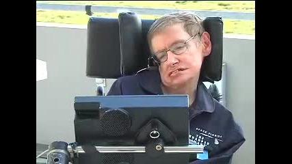 Stephen Hawking Takes A Zero - Gravity Flight