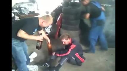 Тестване на аербег в Русия
