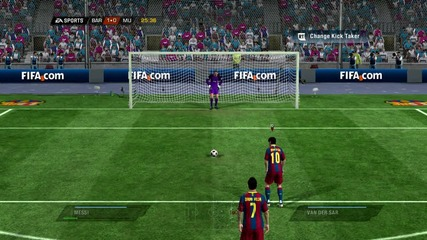 Messi scores penalty