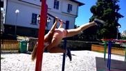Мери Томанова - Българска гимнастичка - [street Workout 2014]