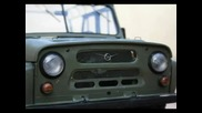 Uaz 469b Rc 110 Full Metal Build part two