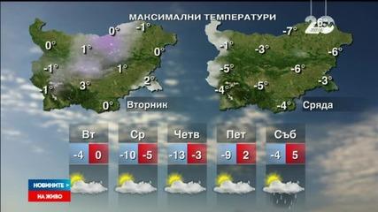 Зимата се завръща със сибирски студ и още сняг