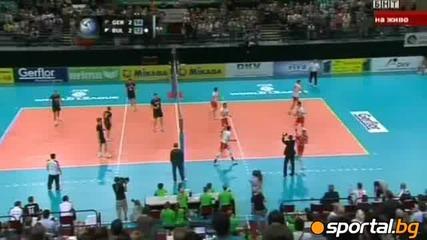 Волейбол : Германия 3 - 2 България