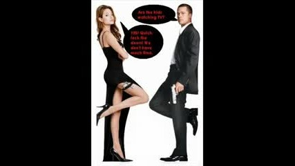Brat Bit And Angelina Jolie