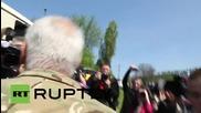 Украйна: Националисти арестуване по време на комунистическата манифестация по случай Първи май