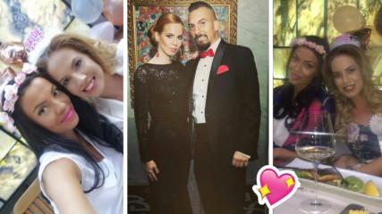 Виолета Сиракова вдигна бонбонено моминско парти! Сестра ѝ ще ѝ бъде кума