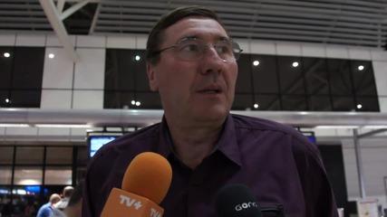 Глушков: Дано се представим като сърцат отбор в Литва