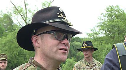 Germany: NATO troop cross Naab River in 'Operation Dragoon Ride II'