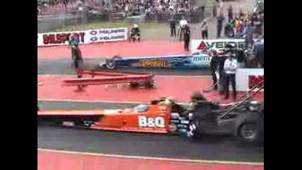 Top Fuel Dragster Lex Joon 4.76sec@481.9kmh Mantorp 2005