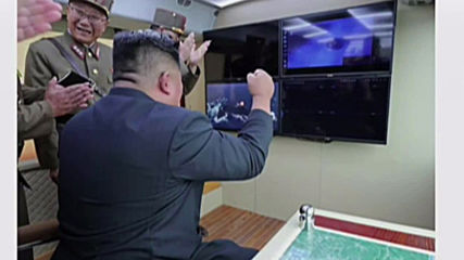 North Korea: Kim oversees new missile test - state media *STILLS*