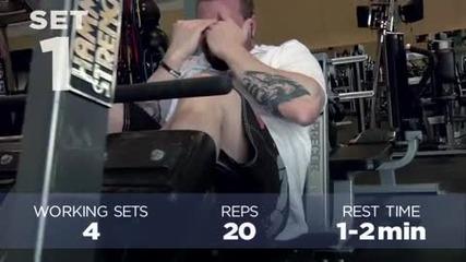 Kris Gethin 12 Weeks Trainer - Week 10 - Day 69 - Saturday
