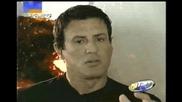 Легендата Силвестър Сталоун говори за филма си Деца Шпиони 3- D: Краят на Играта (2003)