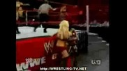 Raw 6th April 2009 Raw Divas Vs Smackdown Divas
