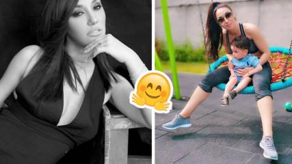 Как поддържа форма Мария Илиева? Певицата показа мега сладка снимка