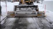 Почистване на сняг в Канада!