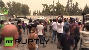 Lebanon: Protesters throw eggs at convoy of politicians in Beirut