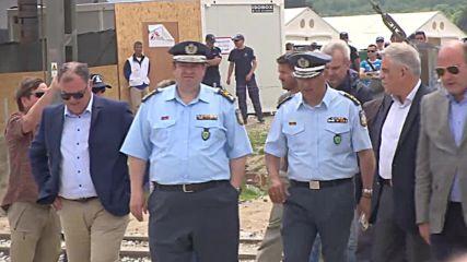 Greece: Authorities declare evacuation of Idomeni camp complete