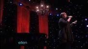 Adele - Someone like you (live on Ellen)