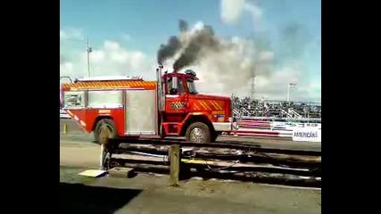 wheely fire truck!