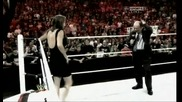 Wwe Triple h vs Brock Lesnar At Summerslam Promo