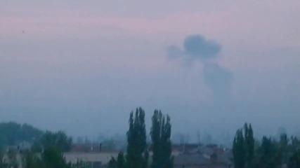Славянск 02 май 2014, 05 часа Начало на щурма срещу града