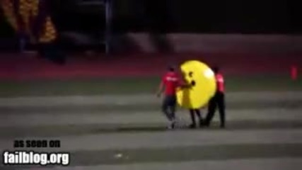 Pac Man Fail