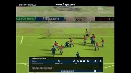 Още голове на Fifa 10