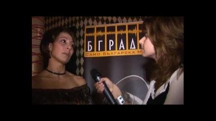 Интервю за наградите на Бг Радио с Тони