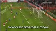 гол на Младен Петрич срещу Стандарт Лиеж - 8.03.2010