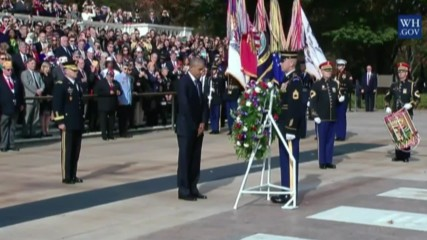 USA: Obama marks Veteran's Day for last time as US President