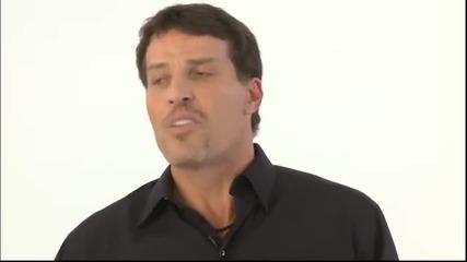 Тони Робинс - решенията ни контролират живота ни