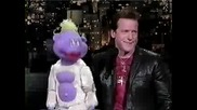 Jeff Dunham and Peanut При David Letterman