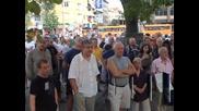 Протест на живеещите в центъра софиянци срещу платеното паркиране