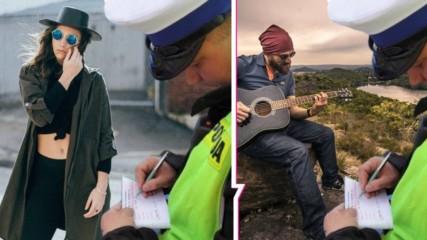 Мода или кауза: Защо полицай пише актове на снимки във Facebook? Каква е историята?